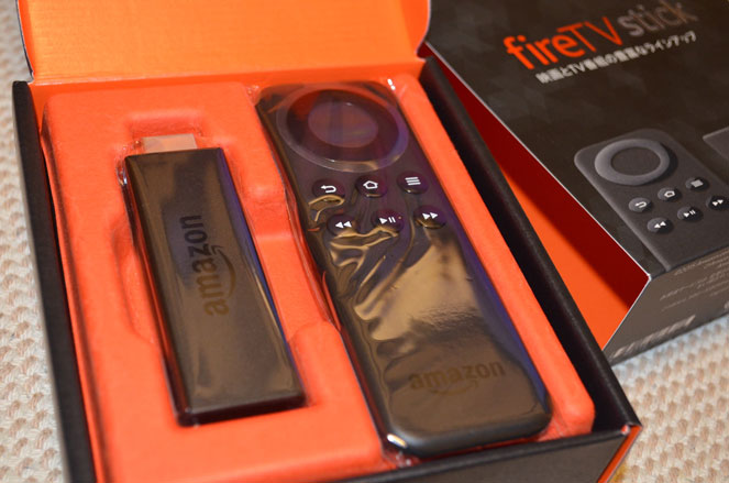 fire TV stickリモコン