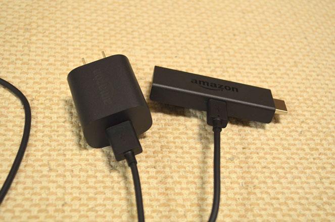 fire TV stick電源