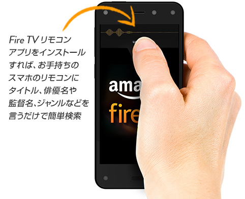 fire TV stickリモコンアプリ